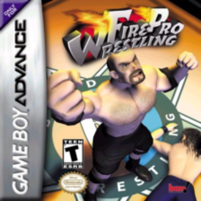 Fire Pro Wrestling Cover Art