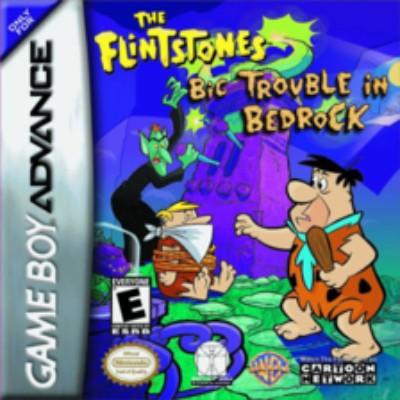 Flintstones: Big Trouble in Bedrock Cover Art