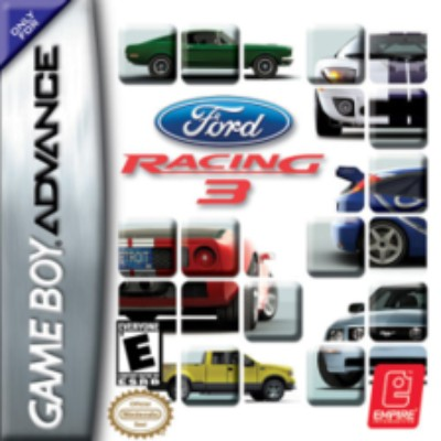 Ford Racing 3 Cover Art