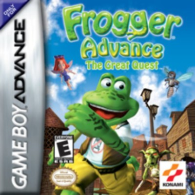 Frogger Advance: The Great Quest Cover Art