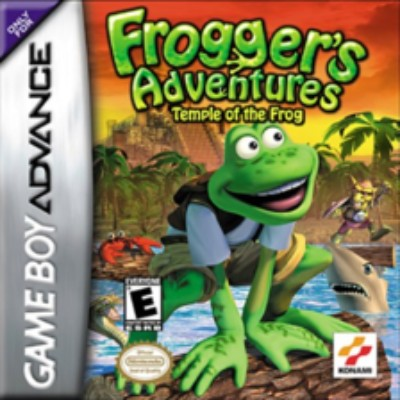 Frogger's Adventures: Temple of the Frog Cover Art