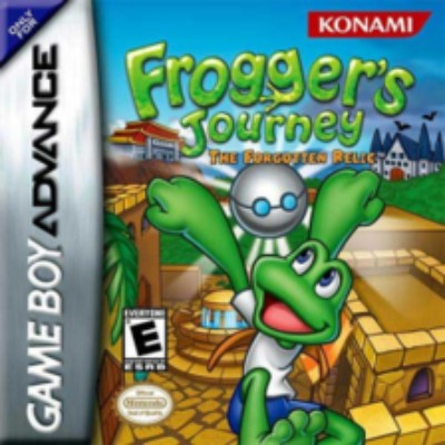 Frogger's Journey: The Forgotten Relic Cover Art