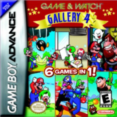 Game & Watch Gallery 4 Cover Art