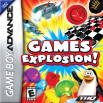 Games Explosion! Cover Art