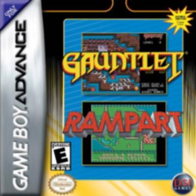 Gauntlet & Rampart Cover Art