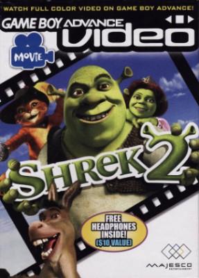 GBA Video: Shrek 2 Cover Art