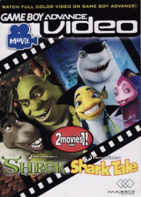 GBA Video: Shrek / Shark Tale Cover Art