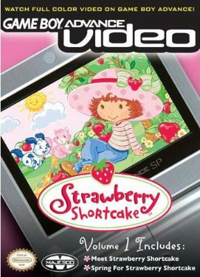 GBA Video: Strawberry Shortcake Volume 1 Cover Art
