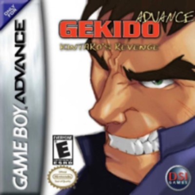 Gekido Advance: Kintaros Revenge Cover Art