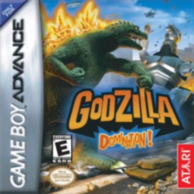Godzilla Domination Cover Art