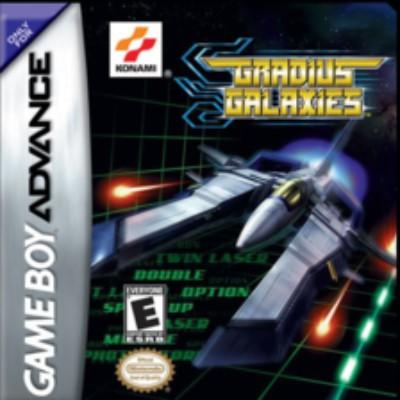 Gradius Galaxies Cover Art