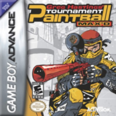 Greg Hastings' Tournament Paintball MAX'D Cover Art