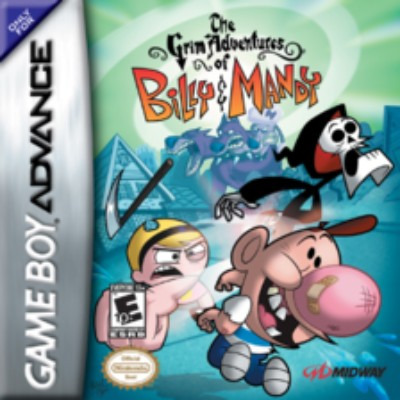 Grim Adventures of Billy & Mandy Cover Art