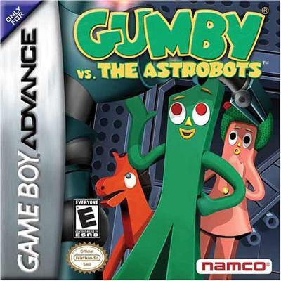 Gumby vs. The Astrobots Cover Art