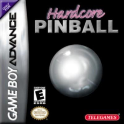 Hardcore Pinball Cover Art