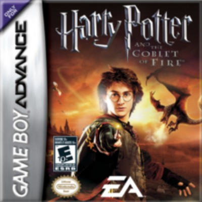 Harry Potter and the Goblet of Fire Cover Art