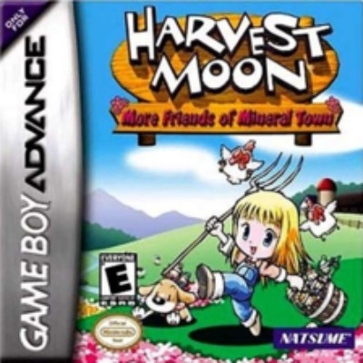 Harvest Moon: More Friends of Mineral Town Cover Art