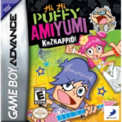 Hi Hi Puffy: AmiYumi Kaznapped Cover Art