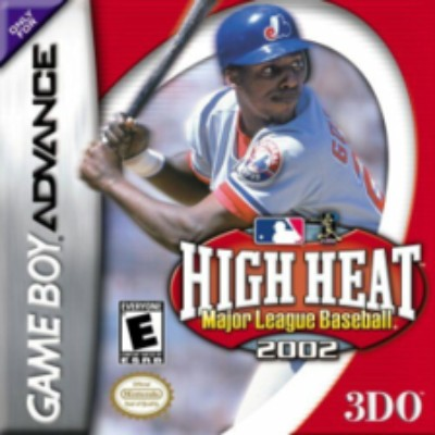 High Heat Major League Baseball 2002 Cover Art