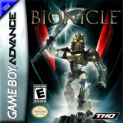 Bionicle: The Game Cover Art