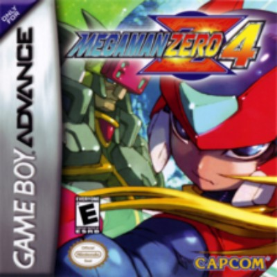 Mega Man Zero 4 Cover Art