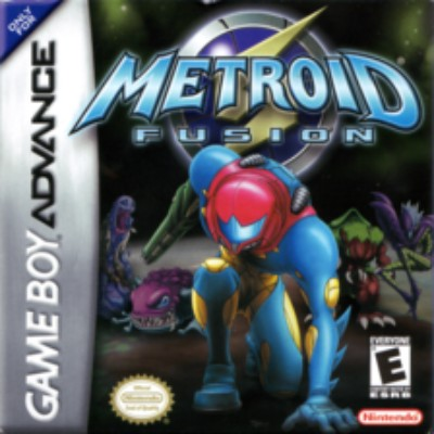 Metroid Fusion Cover Art