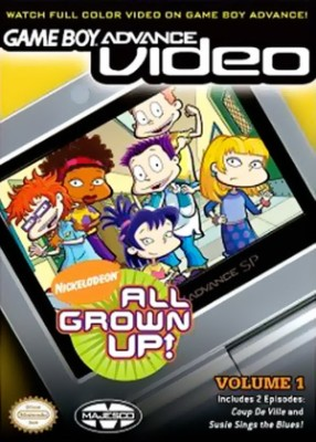GBA Video: Rugrats: All Grown Up Volume 1 Cover Art