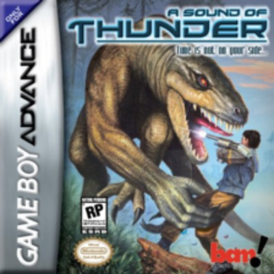 A Sound of Thunder Cover Art