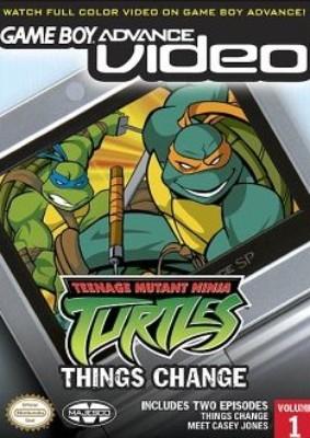 GBA Video: Teenage Mutant Ninja Turtles: Volume 1 Cover Art