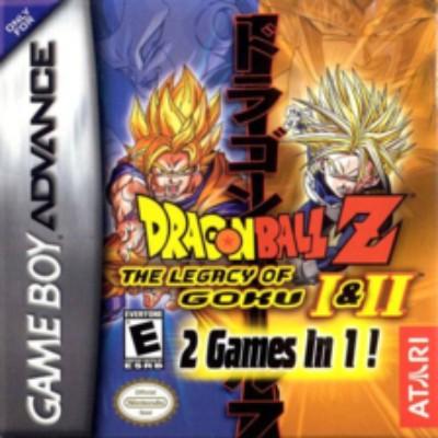 Dragon Ball Z: The Legacy of Goku I & II Cover Art