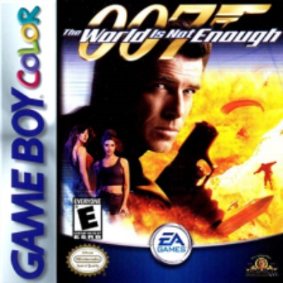 007 The World is Not Enough Cover Art