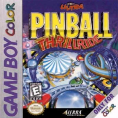 3D Ultra Pinball: Thrillride Cover Art