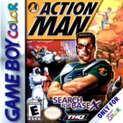 Action Man: Search for Base X Cover Art