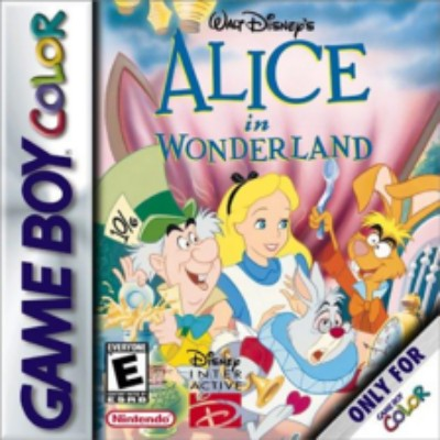 Alice in Wonderland Cover Art