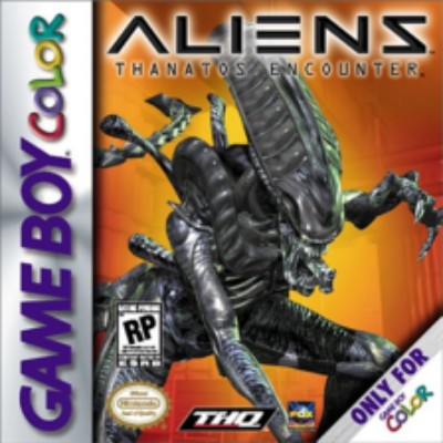 Aliens: Thanatos Encounter Cover Art