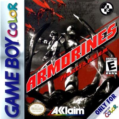 Armorines: Project S.W.A.R.M. Cover Art