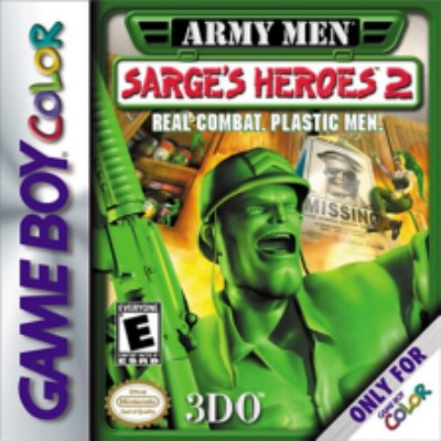 Army Men: Sarge's Hereos 2 Cover Art