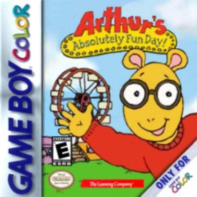 Arthur's Absolutely Fun Day Cover Art