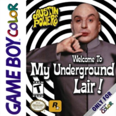 Austin Powers: Welcome to my Underground Lair! Cover Art