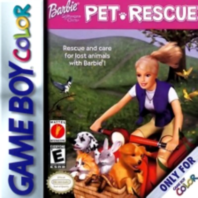 Barbie: Pet Rescue Cover Art