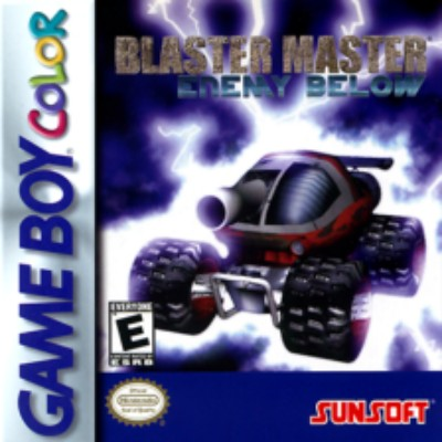 Blaster Master: Enemy Below Cover Art