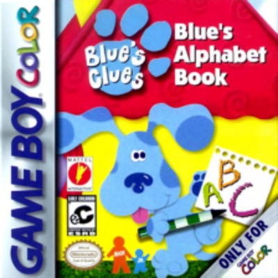 Blue's Clues: Blue's Alphabet Book Cover Art