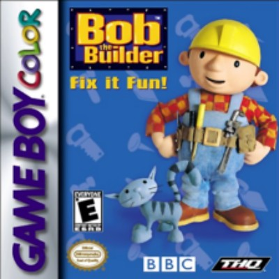 Bob the Builder: Fix it Fun! Cover Art