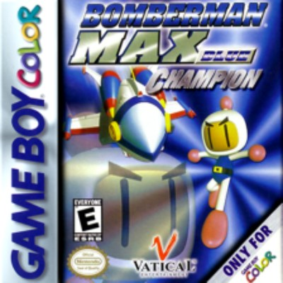 Bomberman Max: Champion Blue Version Cover Art