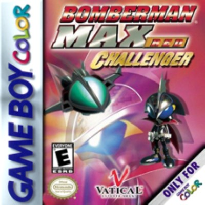 Bomberman Max: Challenger Red Version Cover Art
