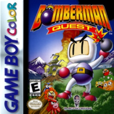 Bomberman Quest Cover Art