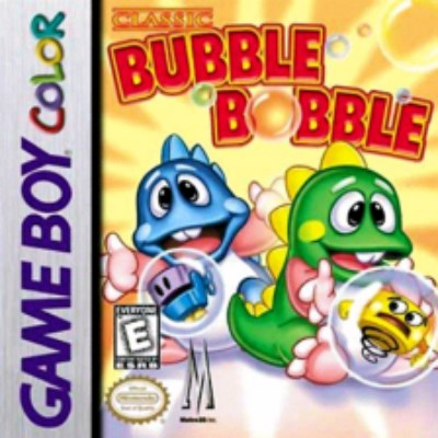 Classic Bubble Bobble Cover Art