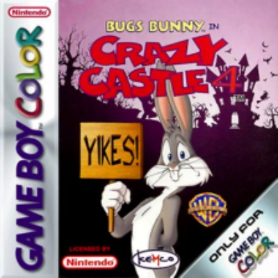 Bugs Bunny in Crazy Castle 4 Cover Art