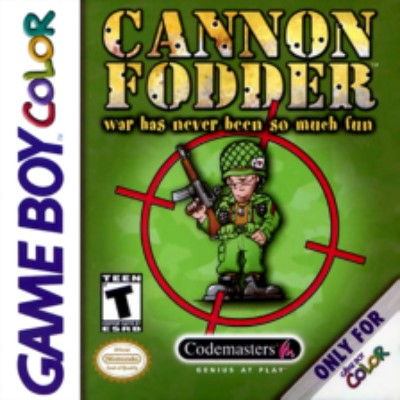 Cannon Fodder Cover Art