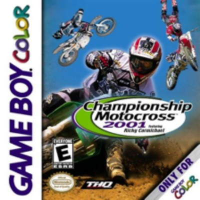 Championship Motocross 2001: Featuring Ricky Carmichael Cover Art